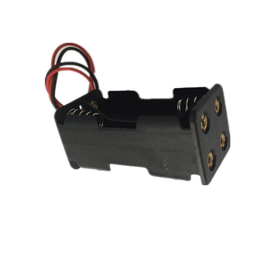 4X1 5V battery shell 4AAA battery holder 4XAAA 4XLR3 battery case 6V battery box back to