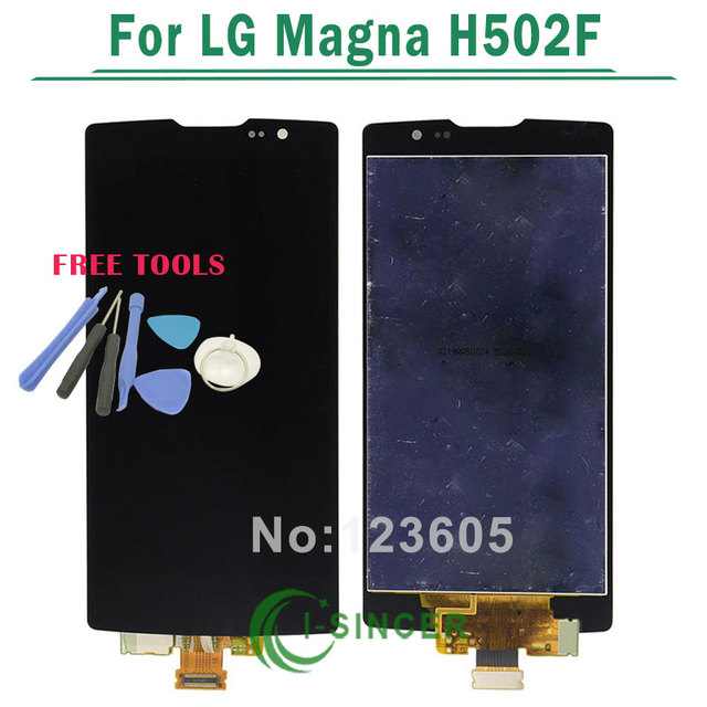 Black LCD Display+Touch Screen Digitizer Assembly Replacement For LG Magna H502F H500F H500R H502G H500N Y90+TOOLS Free Shipping