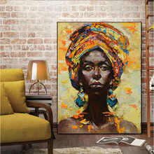 MUTU Canvas Painting Wall Art Pictures prints Black woman on canvas no frame home decor Wall poster decoration for living room canvas painting wall art pictures prints colorful woman on canvas no frame home decor wall poster decoration for living room