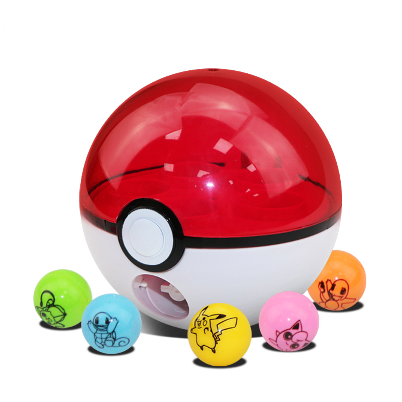 <font><b>Anime</b></font> XY <font><b>Action</b></font> <font><b>Figures</b></font> <font><b>Pokeball</b></font> Rocket Shot Ball <font><b>Pikachu</b></font> <font><b>Figures</b></font> Toys Super Game toys brinquedos best gift for kids toys 8cm