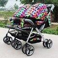 Детские коляски, близнецы коляска, двойной коляской, супер подвеска двойняшек перевозчик коляска багги бегун тележка, fastshipping