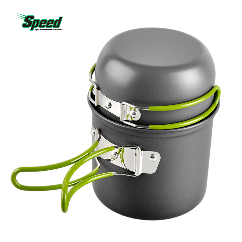 Hot Sales Outdoor font b Sport b font Traveling Camping Hiking Portable Cooking Aluminum Alloy Non