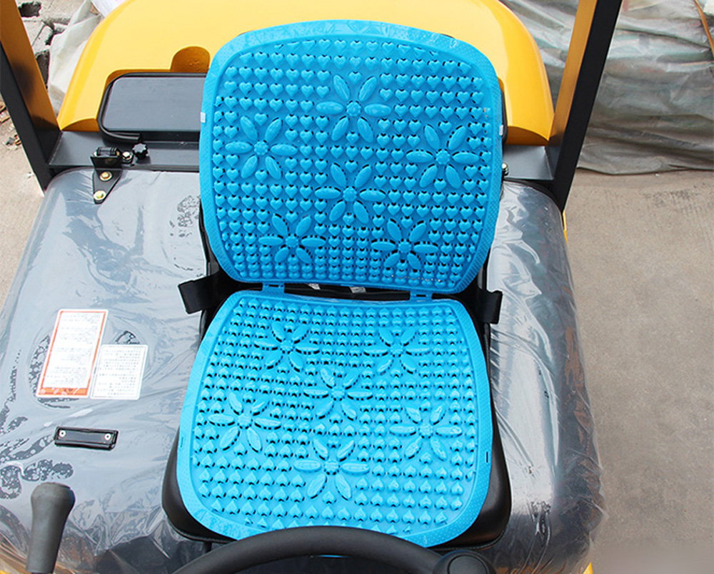 Plastic Seat Covers >> Summer Plastic Breathable Cool Car Waist Seat Cushion ...