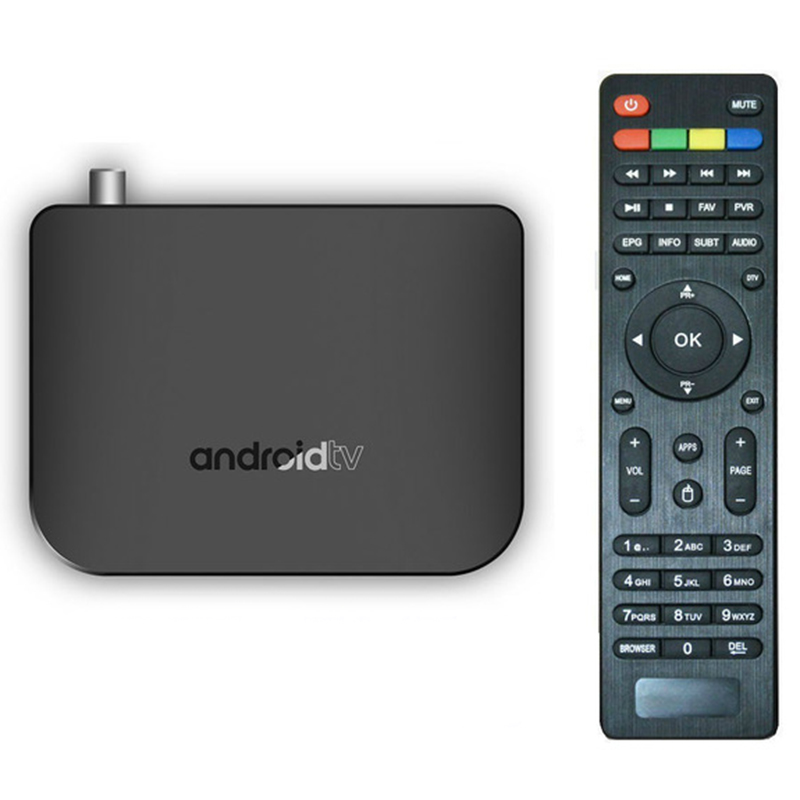 Us Plug M8S Plus Dvb Smart 4K Android 7.1 Tv Box Dvb-T2/T Terrestrial Combo Amlogic S905D Quad Core 1Gb 8Gb 1080P(China)