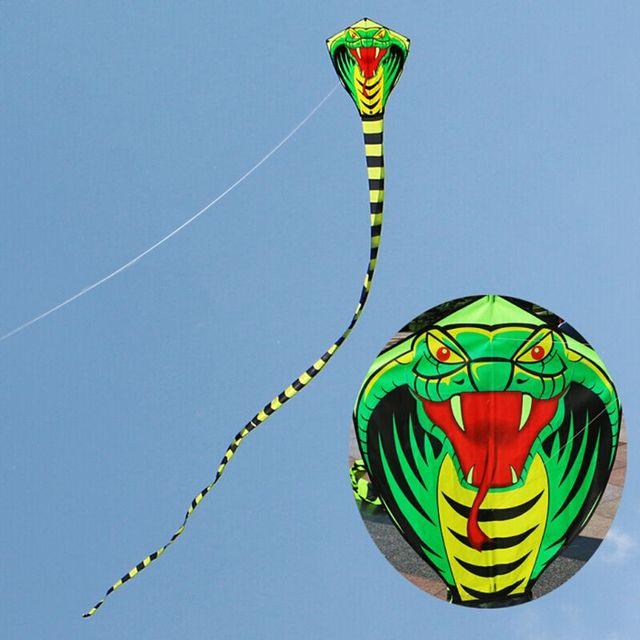 Нарисованная змея Kitesurf воздушные змеи FRP стержень Летающий Спорт Пляж детей Семья Открытый Спорт активности
