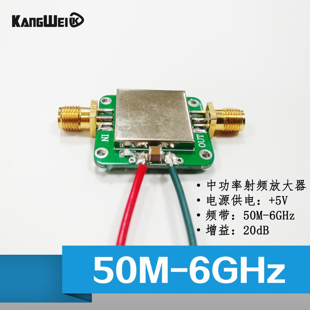 50M--6GHz broadband RF amplifier gain amplifier 19dB power amplifier Conway Technology image