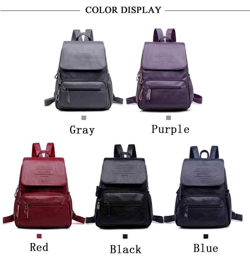 HTB1 lVNrgmTBuNjy1Xbq6yMrVXaX LANYIBAIGE 2018 Women Backpack Designer high quality Leather Women Bag Fashion School Bags Large Capacity Backpacks Travel Bags
