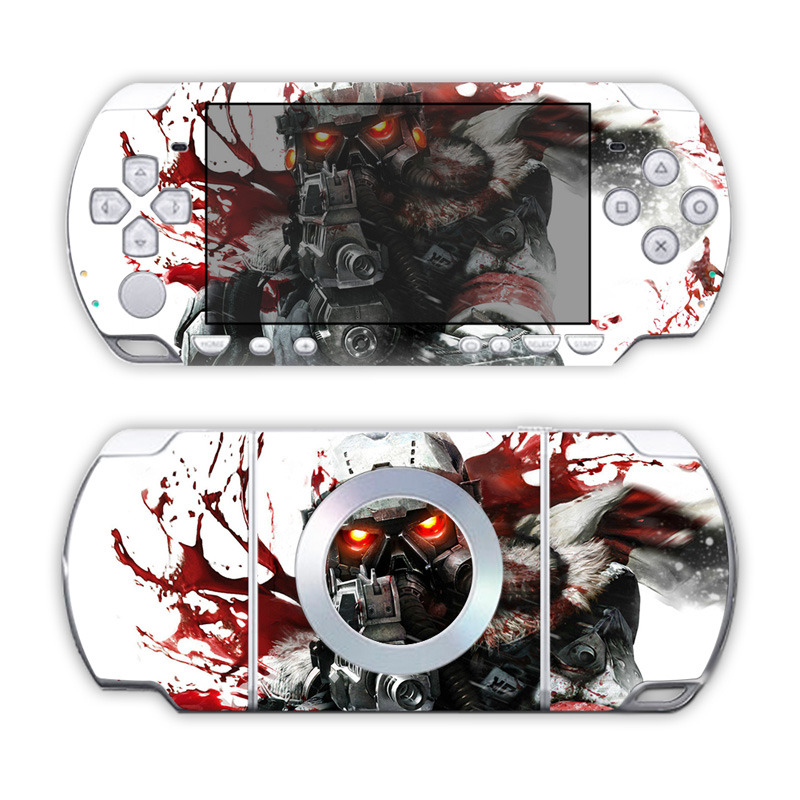 Free Drop Shipping Super Quality Of Waterproof Vinyl Decal Protective Skin Cover For  Sony PSP 2000 #TN-PP2000-5087