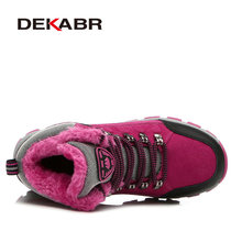 Real Leather Outdoor Women Hiking Shoes Trekking Shoes