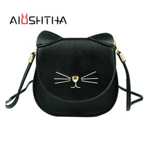 children font b bags b font handbags girls cat cross body shoulder font b bag b