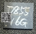 2 unids/lote para LG G3 D855 eMMC 16 GB con firmware Programado NAND de memoria flash IC