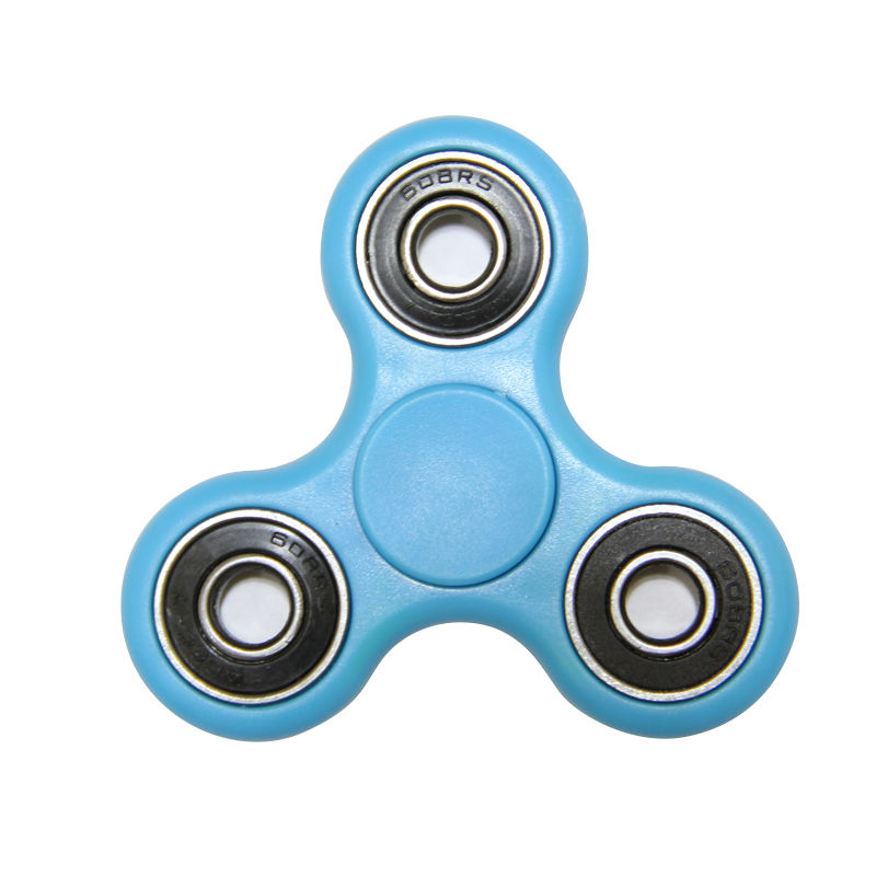 Multi Color Triangle Gyro Finger Spinner Fidget Plastic EDC Hand For Autism/ADHD Anxiety Stress Relief Focus Toys Gift 7 Styles