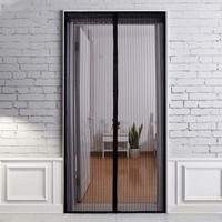 Hoomall 1PC Magnetic Automatic Closing Tulle Moisquiter Net Magnets Door Mesh Insect Flying Window Door Curtain