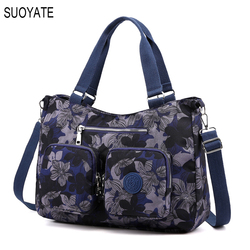 Fashion Women's Shoulder messenger bags Waterproof nylon Large Capacity Female Handbags Ladies Tote Crossbody bag 8 colors
