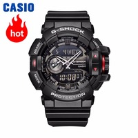 Casio watch G SHOCK Men's Quartz Sports Watch Smart Music Bluetooth Dual Display g shock Watch GA 400
