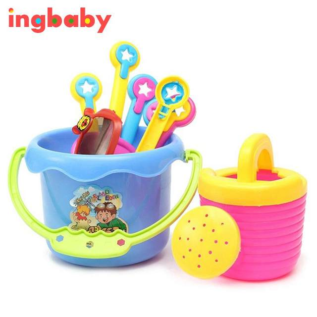 Online Shop 9 Pcs/set Beach Shoveling Tools Baby Bath Play Water ...