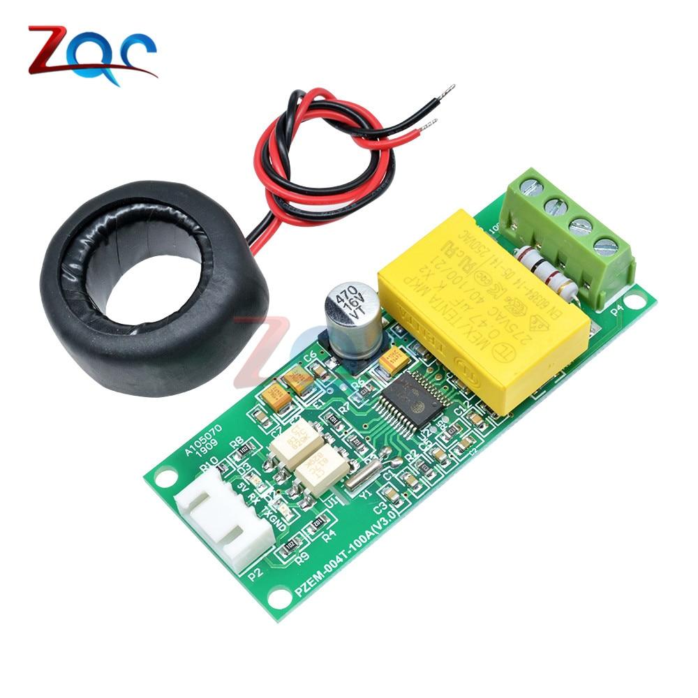 AC Digital Multifunción Medidor Corriente amp de vatio de potencia de voltios Módulo de prueba pzem 004F