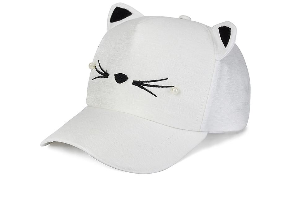 IWINTER Fashion Baseball Cap Cat Ears Unisex Baseball Hats Cap Leisure  Sport Cap For Men Women Hip Hop Hats Cute Hat Bone gorras cbb7d301114f
