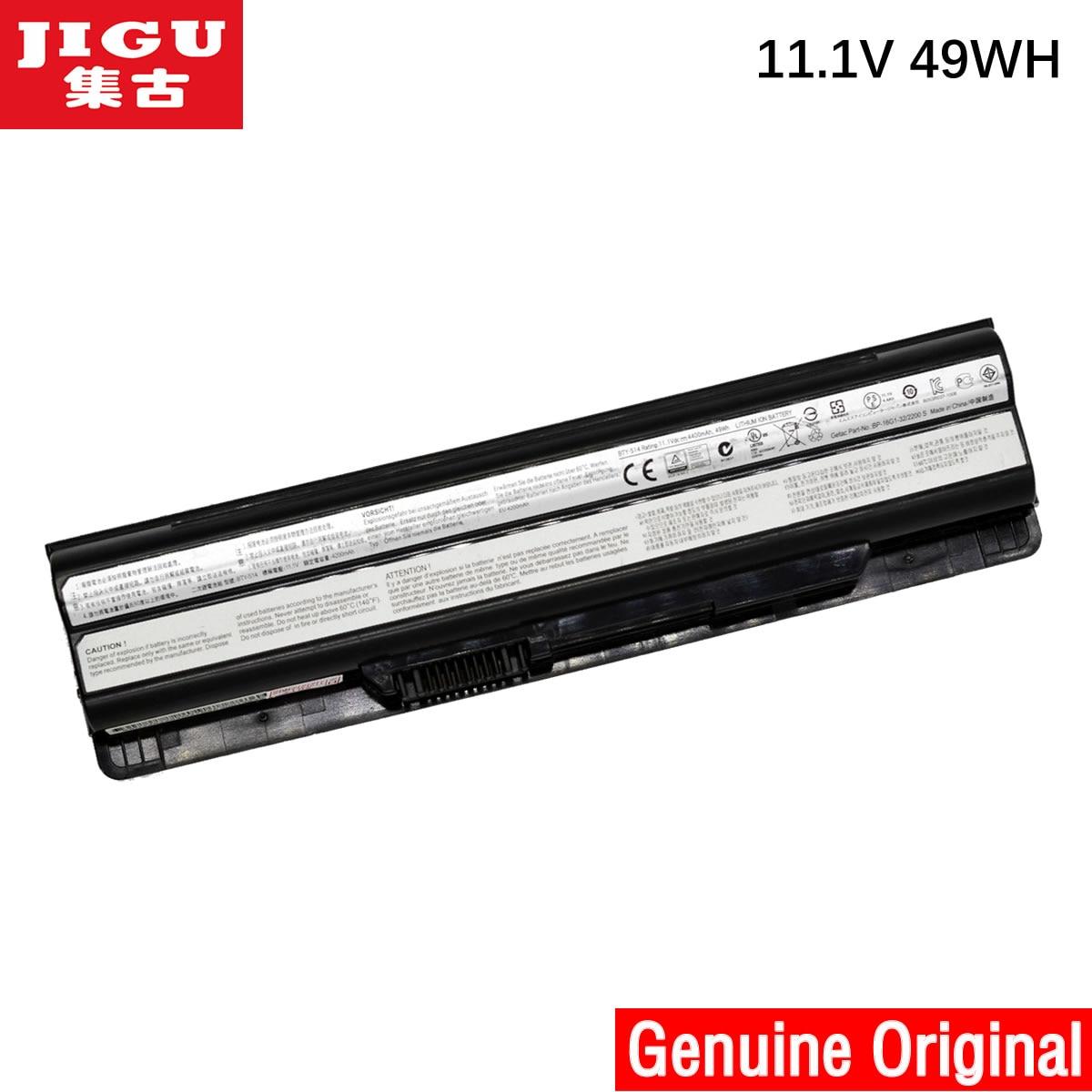 JIGU Batteria del computer portatile Originale BTY-S14 S15 Per MSI CR41 CR650 CX61 CX650 CX70 FR400 FR600 FR610 FR620 FR700 FX400 FX420 FX600