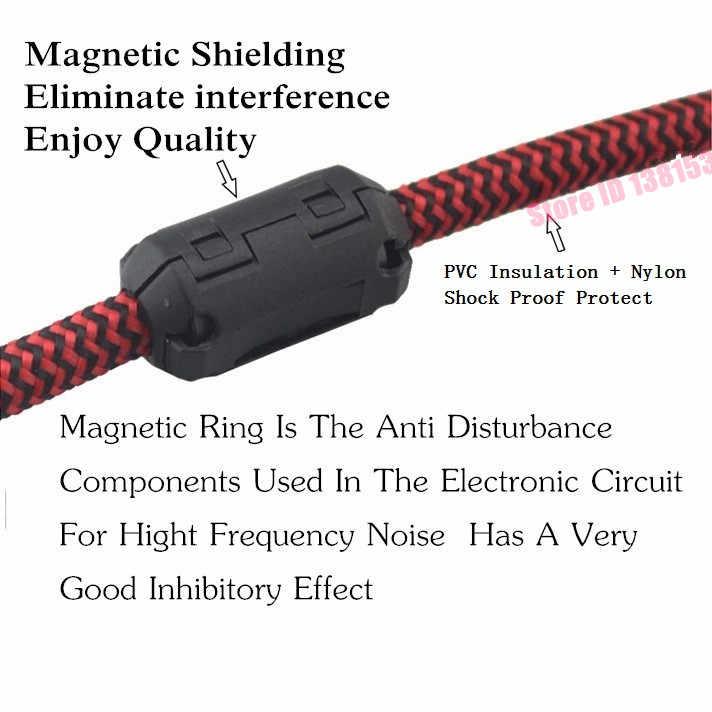 3,5 мм штекер 2x RCA мужской аудио кабель для мобильного телефона ноутбук динамик усилители домашние стерео аудио 1 м 2 м 3 м 5 м