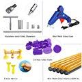 PDR Tools Kit 40pcs Auto Body Paintless Dent Repair Removal Tools Kit Bridge Dent Puller + Glue Gun + Glue Sticks Hand Tool Set