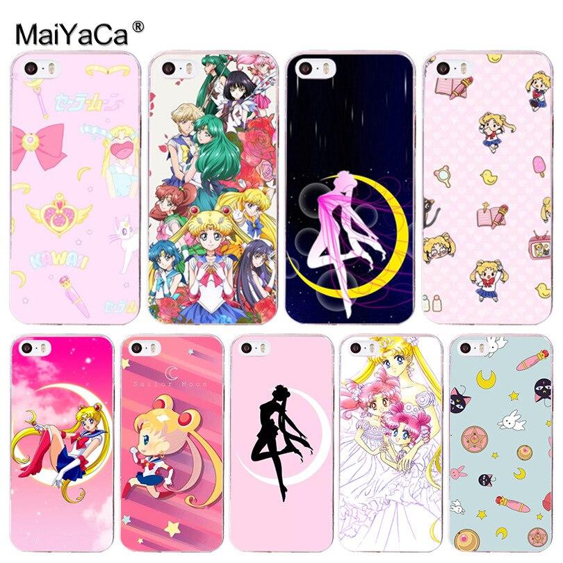 Half-wrapped Case Babaite Sailor Moon Luxury Unique Design Phone Cover For Iphone 6s 6plus 7 7plus 8 8plus X Xs Max 5 5s Xr