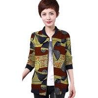 African fashion women print african jacket tailored dashiki clothes ladies short coat customized pattern africa clothing