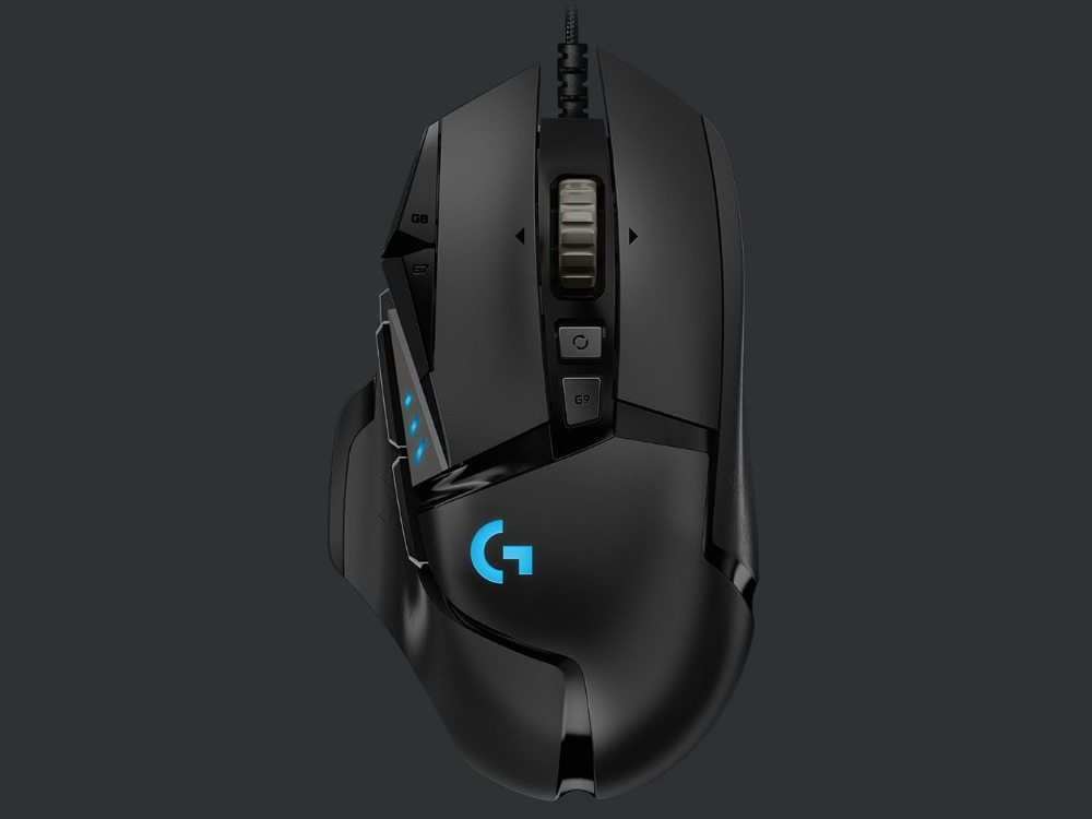 2018 New Logitech G502 Mouse HERO 16K Engine 16000DPI RGB Backlight 11 Programmable Buttons For LOL PUBG Fortnite Overwatch CSGO
