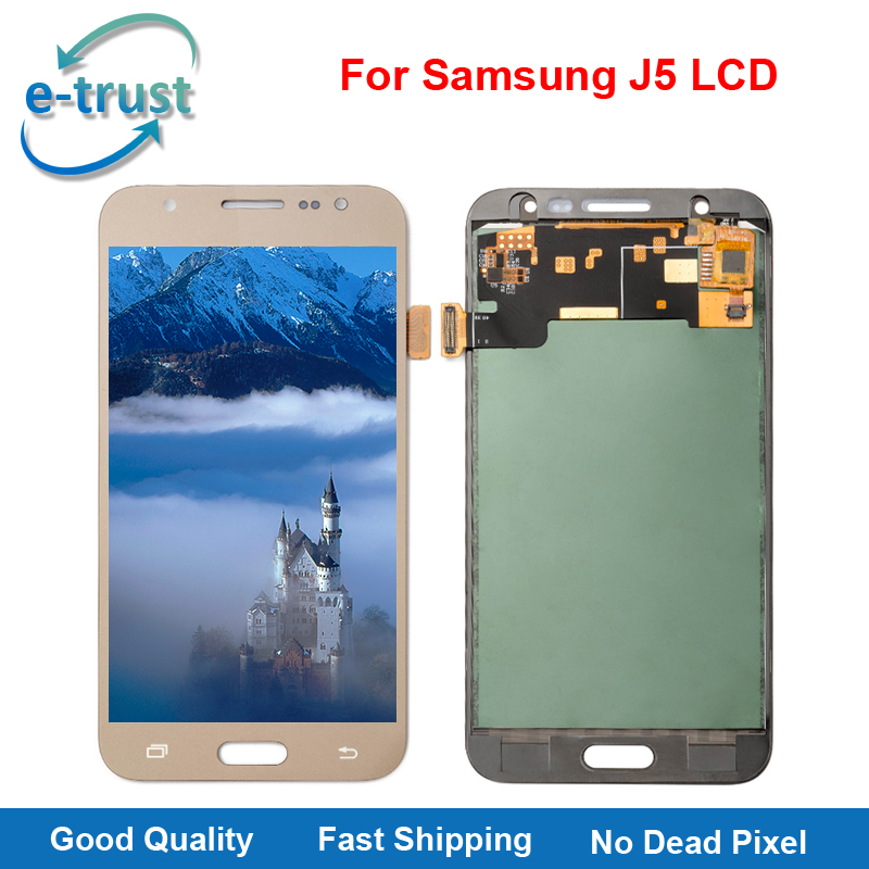 e trust Hot Selling LCD Replacement For Samsung Galaxy J5 2015 J500F J500G J500Y J500M J500H