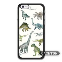 Many Dinosaurs Lovely Cartoon Ultra Case For iPhone X 8 7 6 6s Plus 5 5s SE 5c 4 4s and For iPod 5