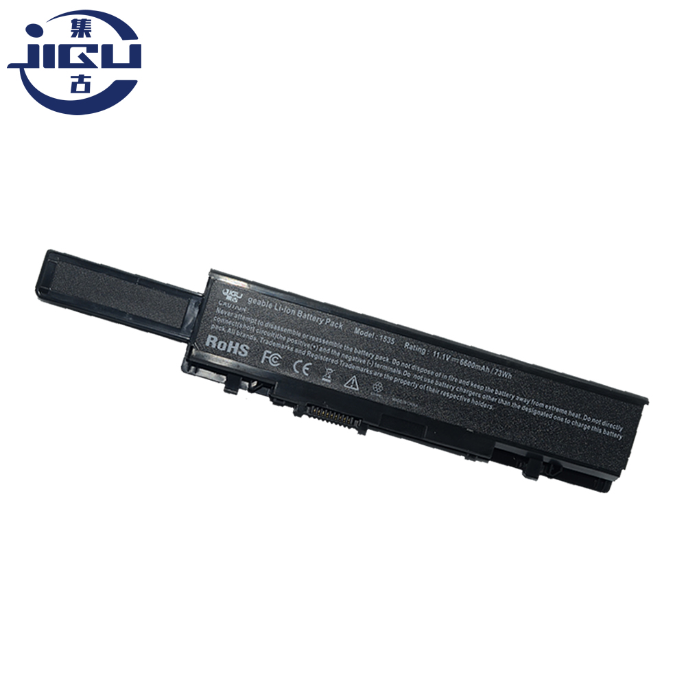JIGU 9 Cells Replacement Laptop Battery WU946 MT264 KM965 312-0702 KM958 For <font><b>Dell</b></font> <font><b>Studio</b></font> <font><b>1535</b></font> 1536 1537 1555 1557 1558 image