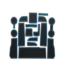 Dongzhen, Пригодный Для Chevrolet Cruze 2017 Двери Groove Мат Аксессуары Для Интерьера Двери Резиновые нескользящей Коврики Ворота слот Площадку