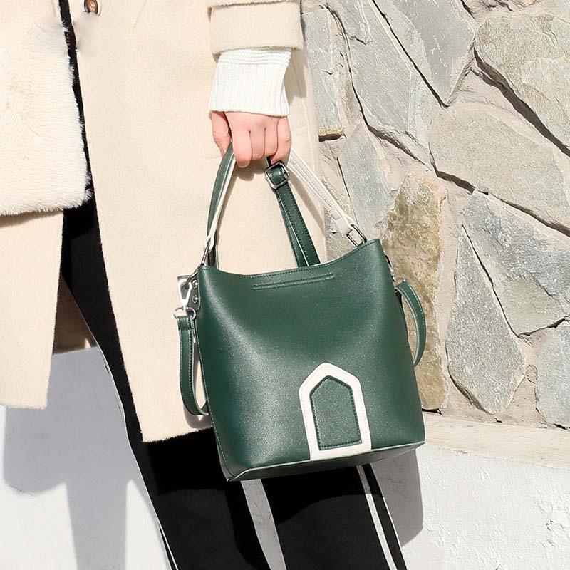 Luxury Brand Tote Bag Contrast Color PU Leather Shoulder Bag Famous Designer Women Handbags Small Square Bags 4