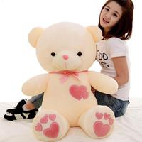 The New Teddy Bear Plush Toys Large Love Bear Doll Send Girls Valentine Birthday Gift Free