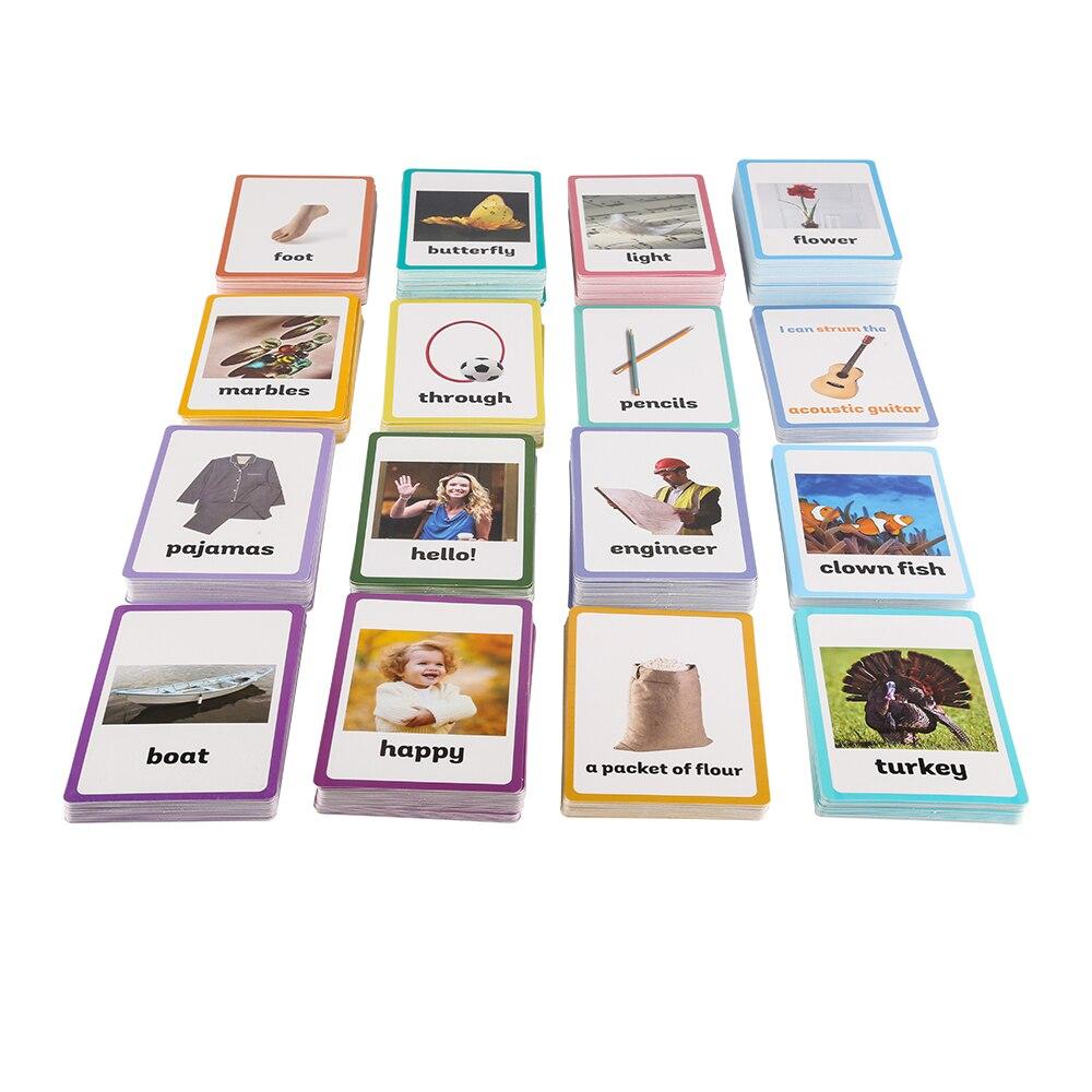 Niños Inglés 26 Aprender 760 Tarjetas Word Falshcards Categorías xtQshrdC
