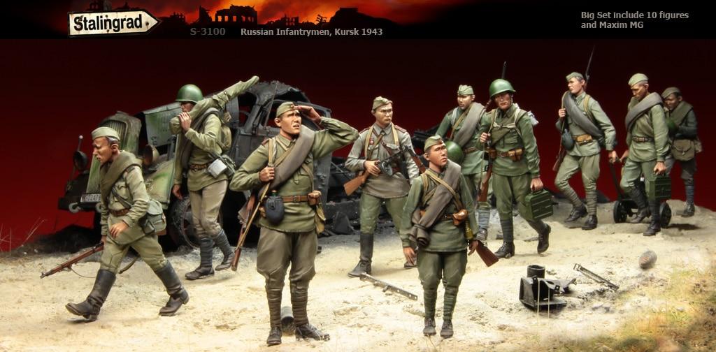 1:35  Russian Infantrymen,