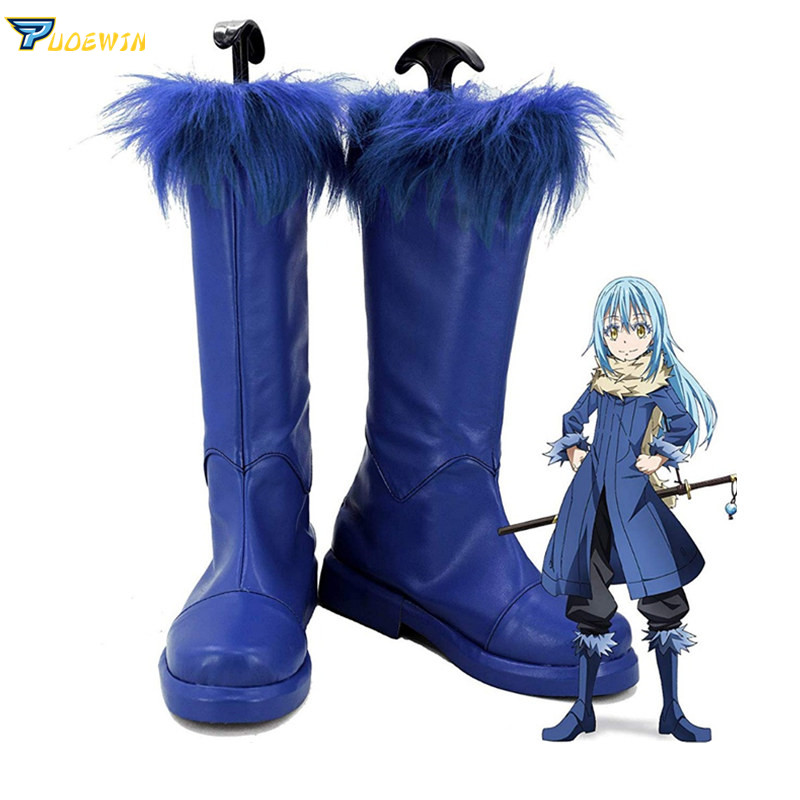 Tensei Shitara Slime Datta Ken Rimuru Tempest Boots Shoes That Time I Got Reincarnated as a Slime Cosplay Anime Shoes-in Shoes from Novelty & Special Use    1