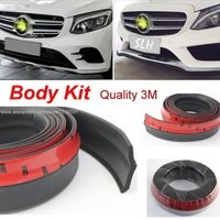For Mercedes Benz S MB W126 W140 W220 W221 W222 C217 Bumper Lips / Body Kit Strip / Front Tapes / Body Chassis Side Protection