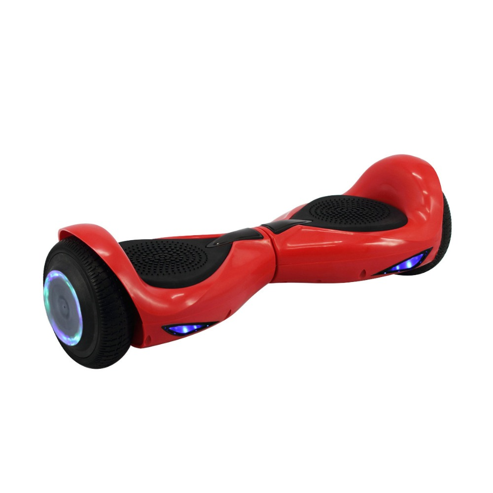 iScooter 6.5inch Hoverboard Electric scooter Two wheel Smart Scooeter With Remote Control & Bluetooth LED Light