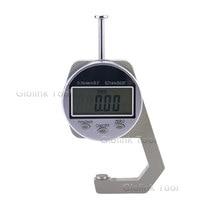 Jauge d'épaisseur numérique numérique Portable, grand écran LCD, Mini 0.01, 0-25.4mm, pour outil de mesure du papier, cuir, planche de bois
