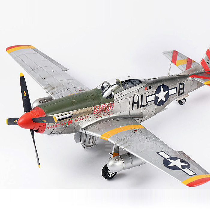 <font><b>1/48</b></font> North American P-51D Wild Horse Fighter LS-006 image