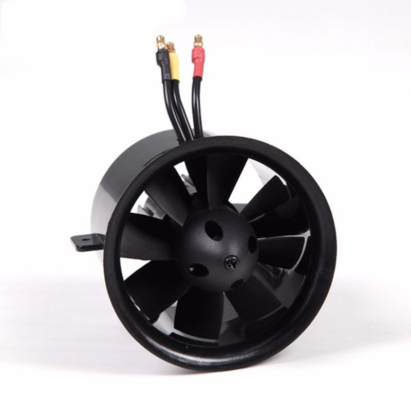 FMS 70mm 8 Blades Ducted Fan EDF Without Motor fms 70mm 12 blades v2 ducted fan edf unit with 2860 kv1850 2845 kv2750 brushless motor