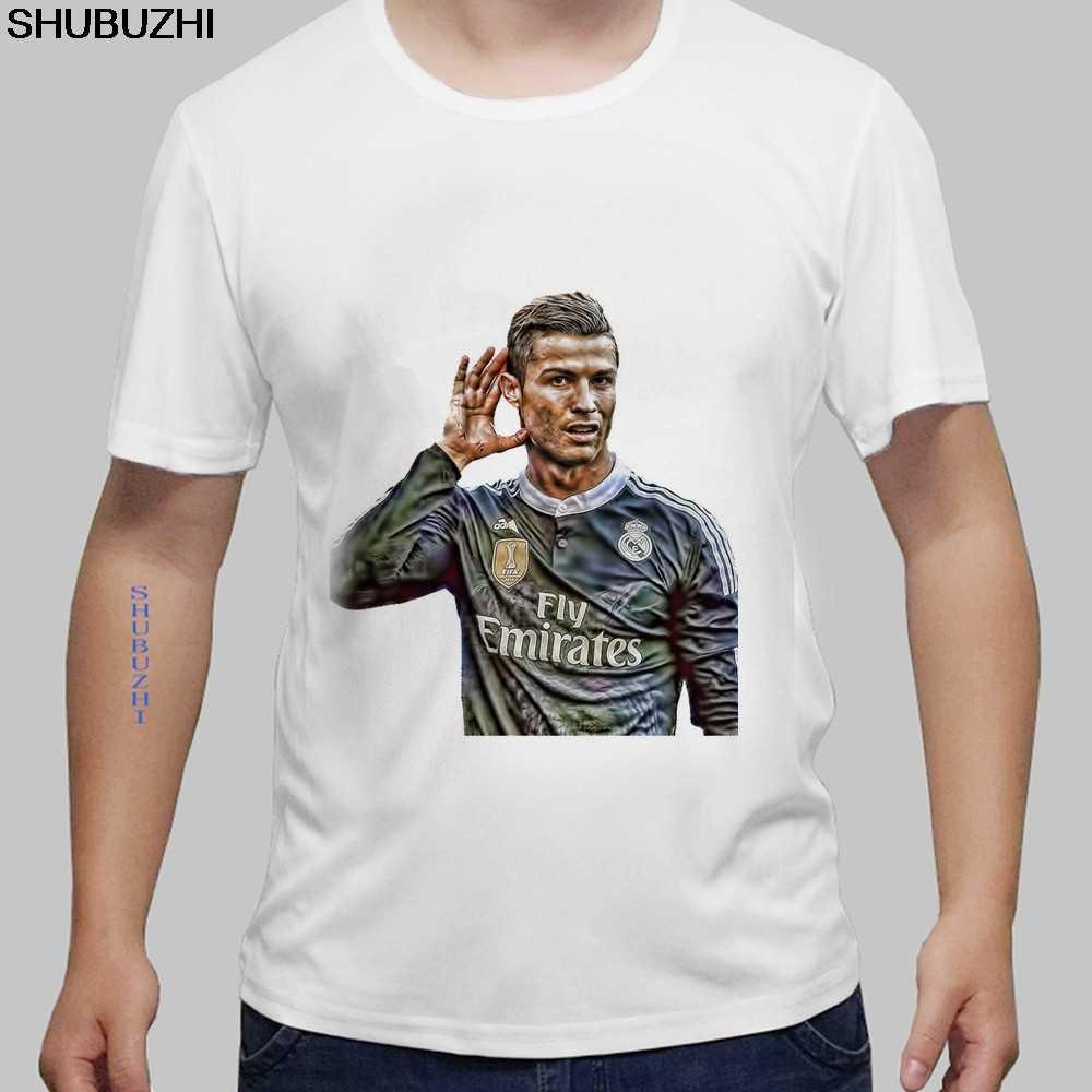 Hommes t-shirts mode CR7 Cristiano Ronaldo portugal #7 hommes t-shirt coton à manches courtes t-shirt taille européenne