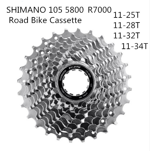 Shimano 105 R7000 11-Speed Bike Cycle Cassette 11-28T