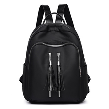 New 2019 Fashion Waterproof Bag Oxford Women Zipper Backpack School Bags For Teenagers Girls Small Female