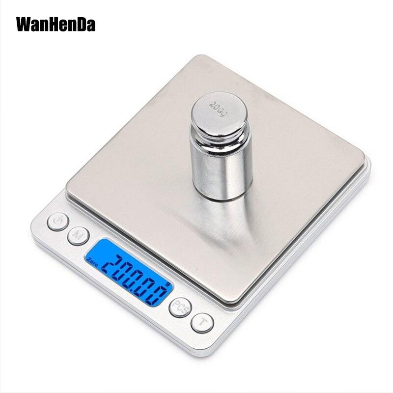 Bilancia elettronica digitale Bilancia tascabile Bilancia da cucina - Strumenti di misura - Fotografia 1