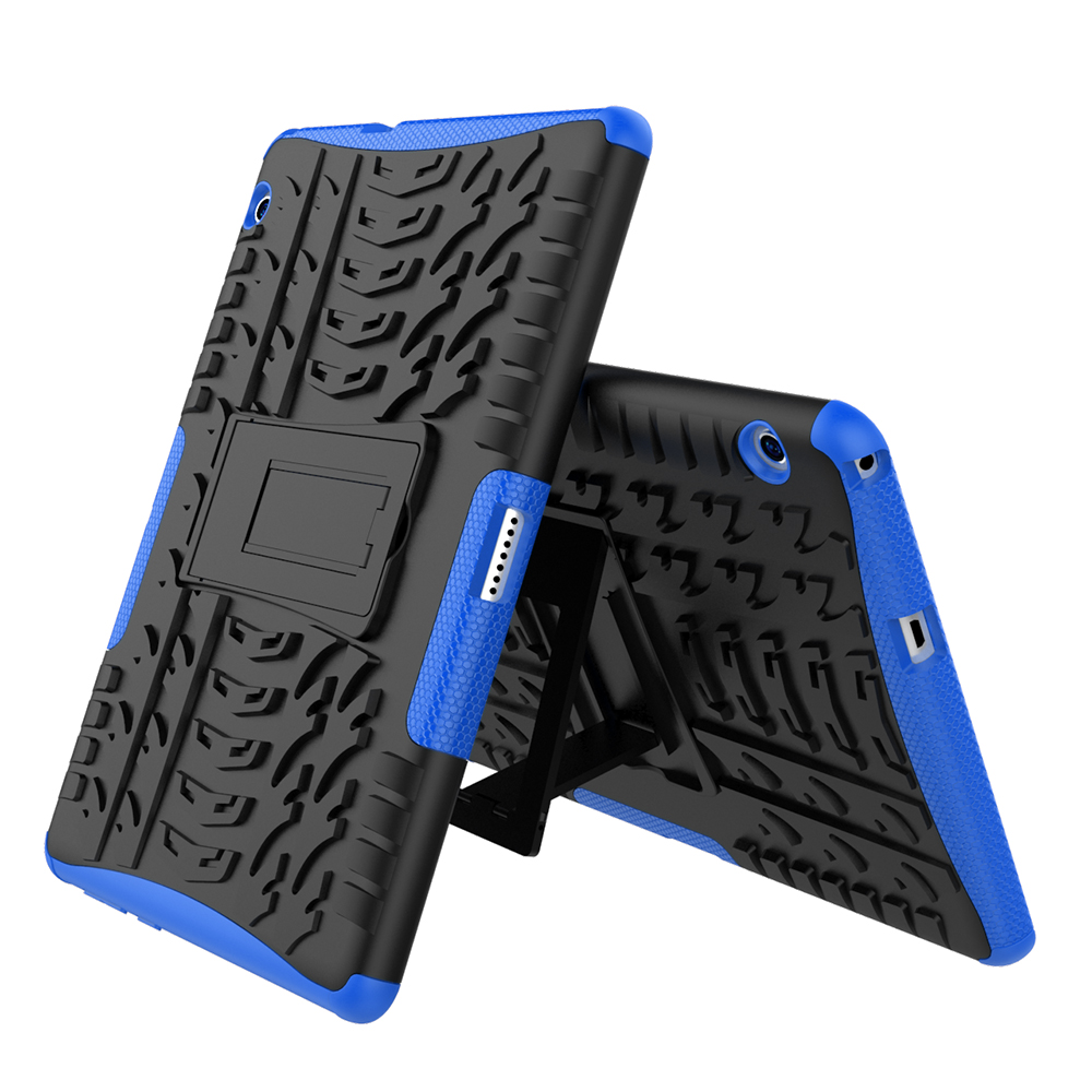 Case For Huawei Mediapad T3 10 9.6 Inch 2In1 Dual Layers Spider Pattern Shockproof Protective Cover With Stand Fundas