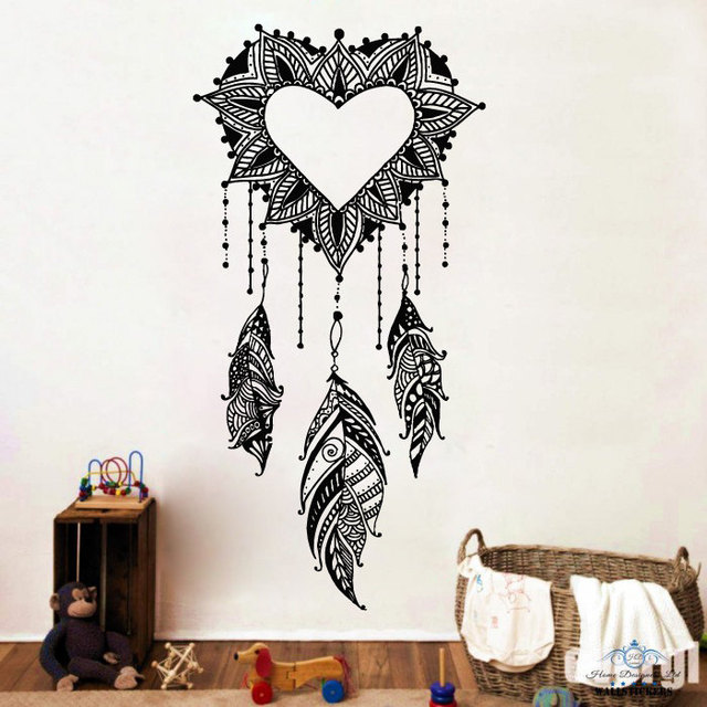 art designed dream catcher wall decals american amulets with