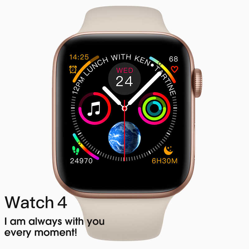 IWO 8 Smart Watch Series 4 Sport Smartwatch Clock for Apple Iphone 6 6s 7 8 X Plus for Samsung IOS Smart Watch Honor 3 Xiaomi