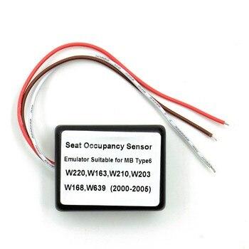Emulador Sensor de ocupación SRS de ocupación de asientos para mercedes tipo 6 soporte W220, W163, W210, W203, W168, W639 e incluso más